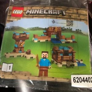 LEGO Minecraft Instruction Manual ONLY